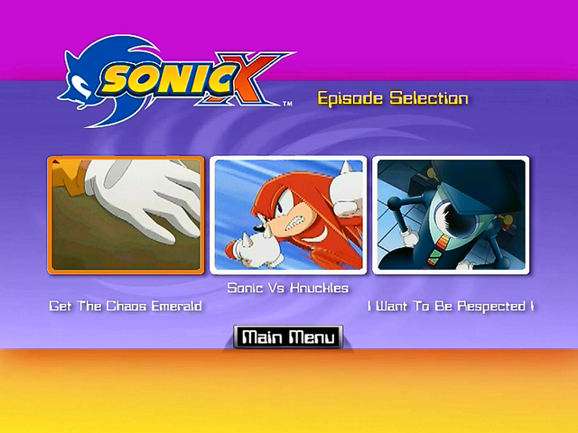 File:Sonic X Volume 2 AUS episode select.png