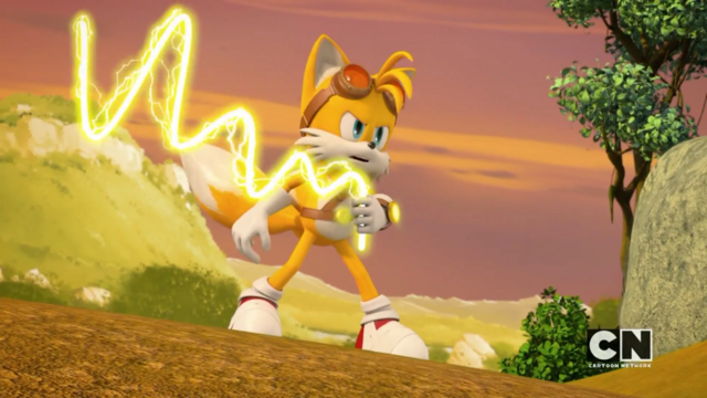 File:Tails using his enerbeam.png