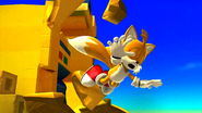 Tails attacked Sonic Lost World