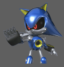 Metal sonic scrapped sprite 1