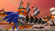 No, don't drop the bombs here! (Sonic Colors version)