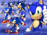 Sonic The Hedgehog Wallpaper FlopiSega