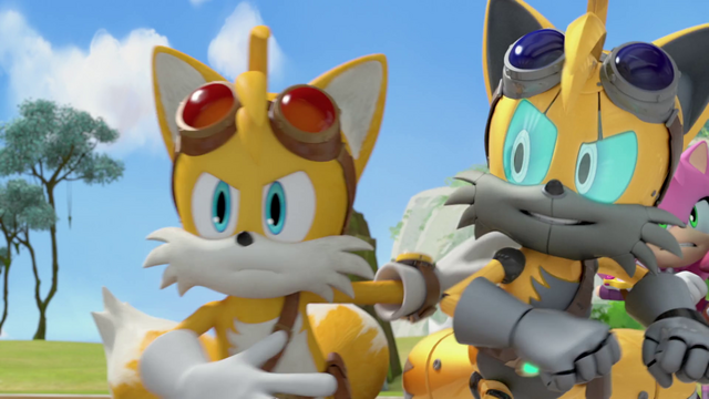File:Tails and Cyborg Tails fight.png