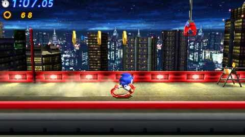 Sonic Generations 3DS - Classic Radical Highway