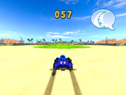 Sonic & SEGA All-Stars Racing Seaside Square 2