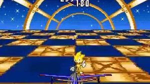 SONIC ADVANCE 3 SPECIAL STAGE 3 OCEAN BASE (SUPER SONIC)