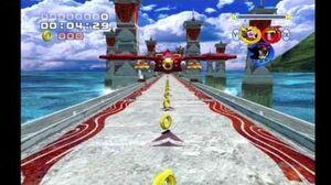 Sonic Heroes Egg Hawk (Team Dark)