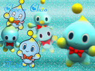 Cheese Chao Wallpaper FlopiSega