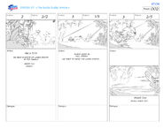 The Curse of the Buddy Buddy Temple storyboard 1