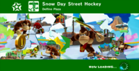 Snow Day Street Hockey Title Card