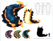 Giant worm concept