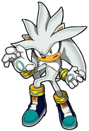 Silver pose