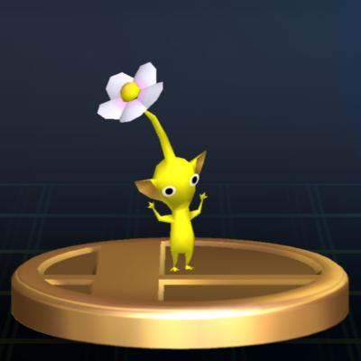 File:Yellow Pikmin - Brawl Trophy.png
