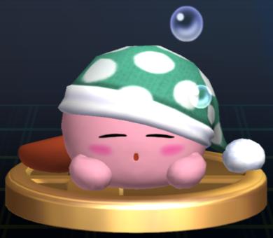 File:Sleep Kirby - Brawl Trophy.png