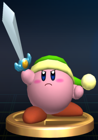 File:Sword Kirby - Brawl Trophy.png