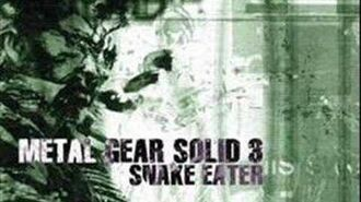 Metal Gear Solid 3 Snake Eater Soundtrack Snake Eater