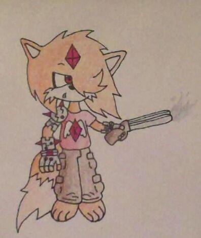 Korps The fox with shotgun