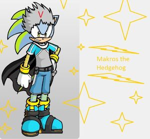 Makros the Hedgehog v2