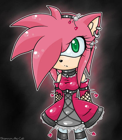 File:Amy rose dark by shannon the cat-d4lp4sx.png