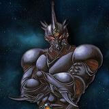 Evil Hero Neos by wolfberserker