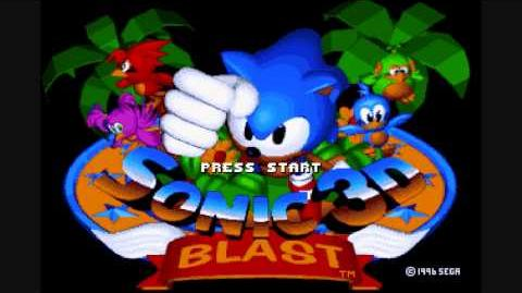 Sonic 3D Blast - Diamond Dust Zone 2 Genesis Music