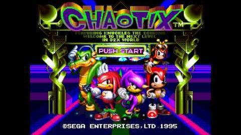 Knuckles' Chaotix (Mega Drive 32X) - Music WALKIN'