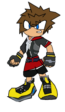 File:Sora From Sonic Revelations.png