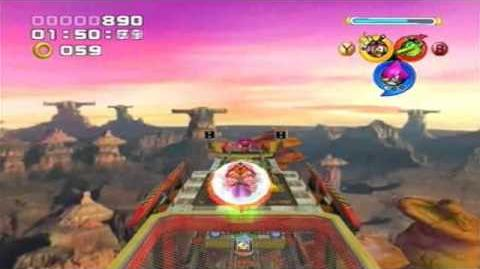 Chaotix Rail Canyon Beginner Strats
