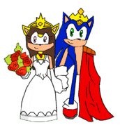 Future Sonic and Future Nancy married