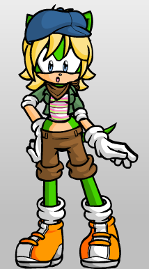 File:Zoey the Hedgehog.png