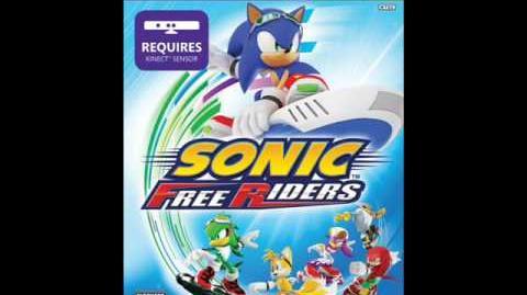 Sonic Free Riders Main Theme - Free (Full version)