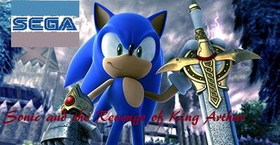 Sonic and the Revenge of King Arthur cover