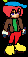 Cammie's old look in sprite