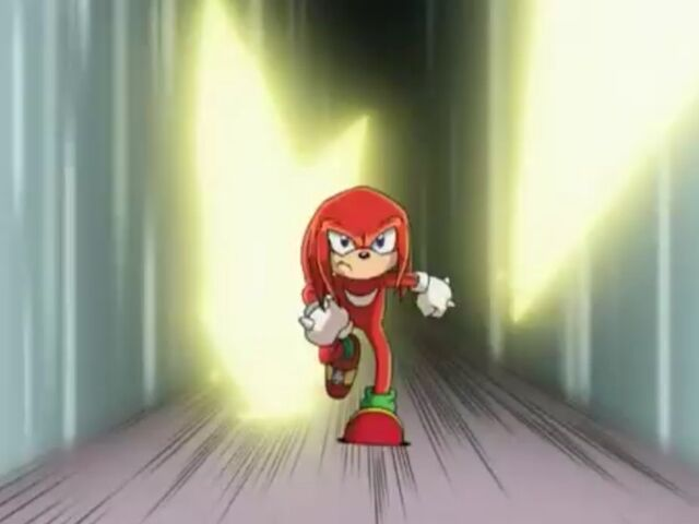 File:Knuckles Dodging Shadow's chaos spear attacks.jpg