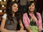 Demi and Selena music video