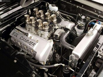 Ford 1965-Mustang Fastback with Cammer Engine-002 4