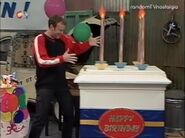Richard with big cake