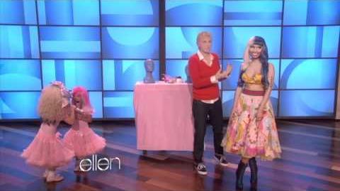 Sophia and Rosie Sing with Nicki Minaj