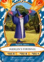 12 - Merlin's Fireball