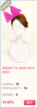 File:Brunette Hair with bow.png