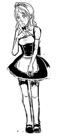 File:Lucy in a Maid outfit.png