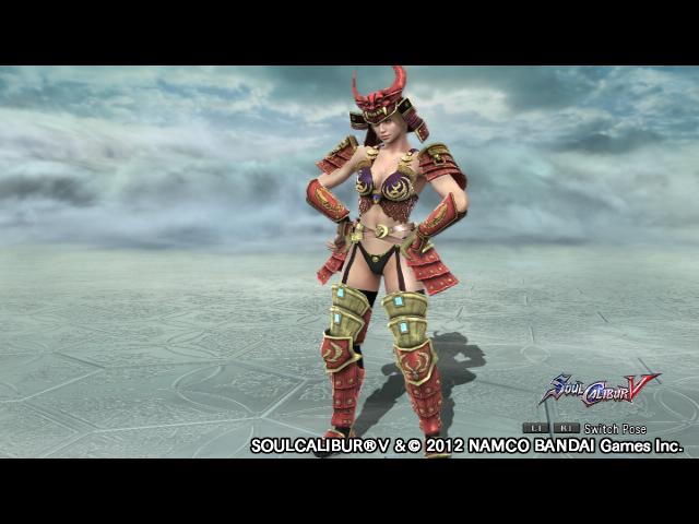 File:SOULCALIBUR Ⅴ Tiger Lily Armor Set.png