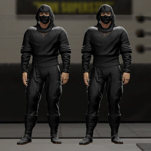 Black Ninja WWE2K16 01