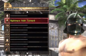 Torment worn