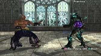 SoulCalibur II PS2 Heihachi's Command List