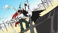 Death using spirit hits a decoy Asura