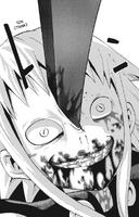 Soul Eater Chapter 22 - Stein stabs Medusa