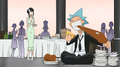 Soul Eater Episode 18 - Black Star dines