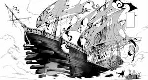 Ghost Ship Nidhogg manga