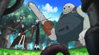 Soul Eater Episode 26 HD - Maka and Crona face Oldest Golem (2)
